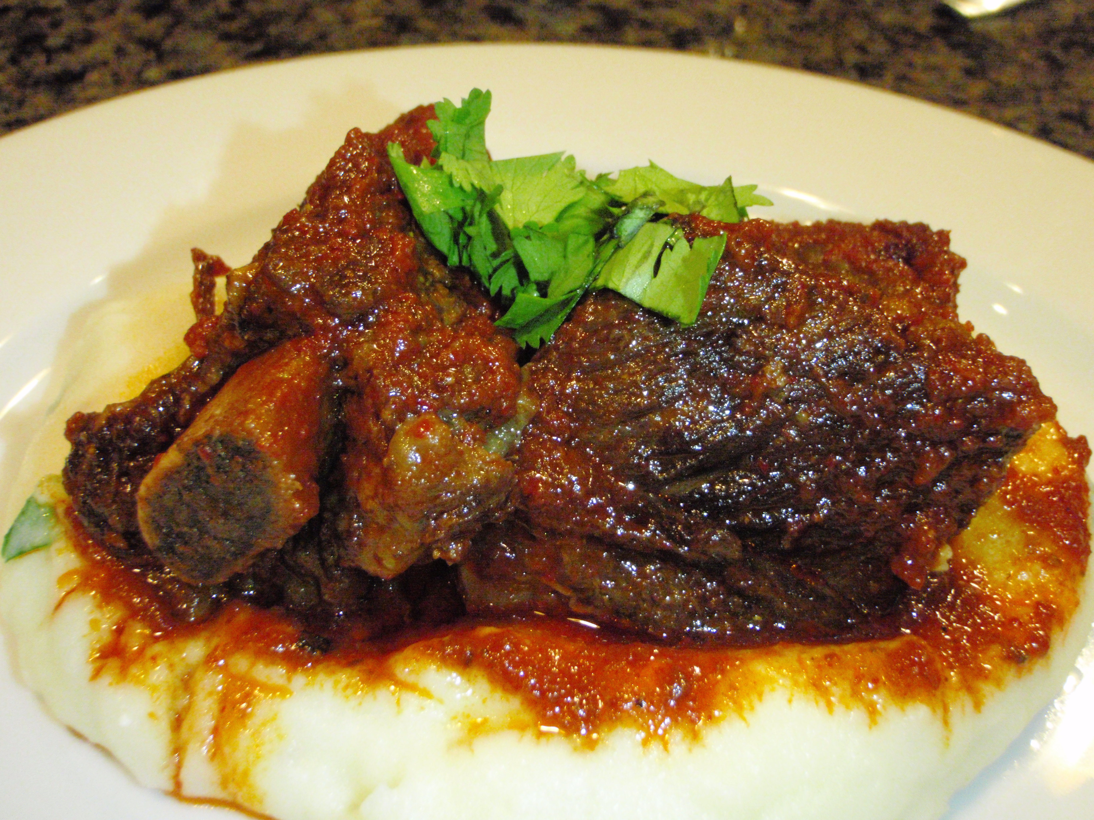 Braised Chinese-Style Short Ribs With Soy, Orange, and