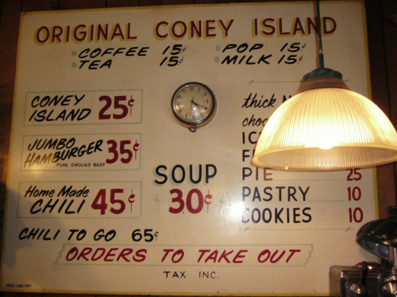 Vintage Menu Board 10