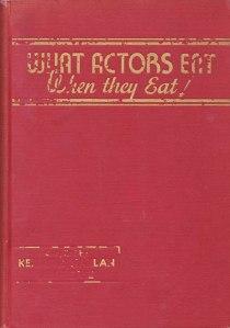 what-actors-eat-cookbook